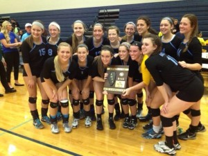 Volleyball Regional Title